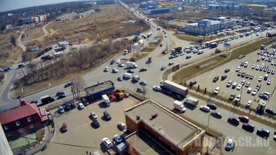 До реконструкции участка на Варшавском шоссе от проезда № 728 до Обводной дороги на Подольск
