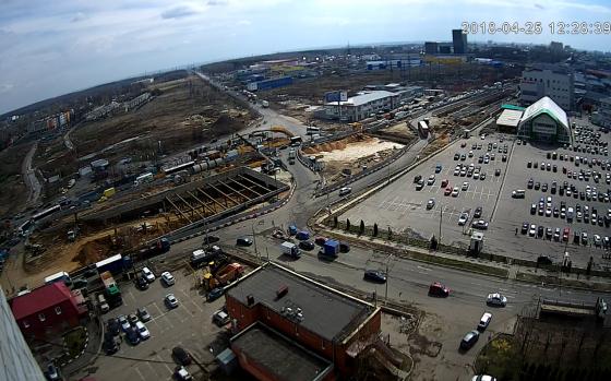 Реконструкция участка на Варшавском шоссе от проезда № 728 до Обводной дороги на Подольск