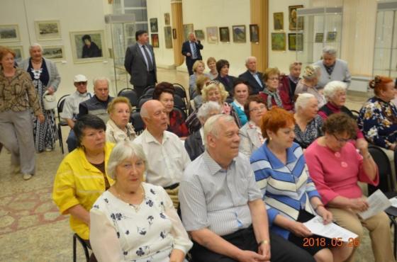 Презентация книги ветерана Г. Баранова в ПВЗ. Май 2018