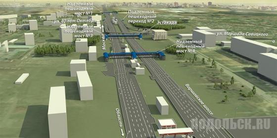 Проект реконструкции Варшавского шоссе