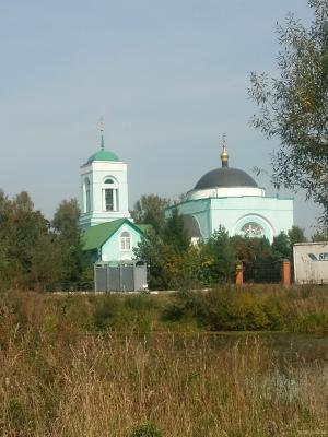 Храм в д. Коледино. Сентябрь 2018