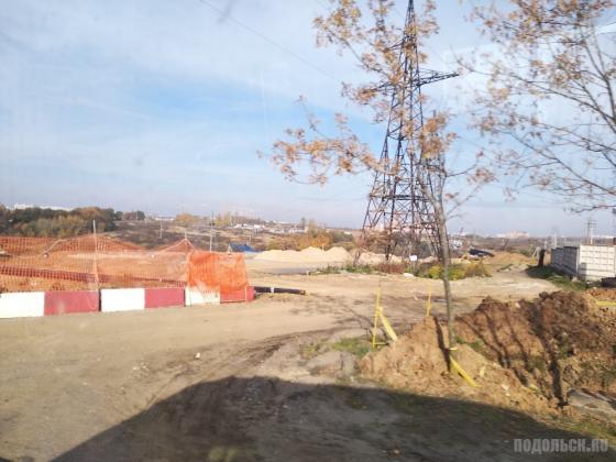 Строительство дублера Остафьевского шоссе. 18.10.2018