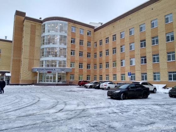 Новая поликлиника в микрорайоне Кузнечики