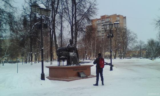 Екатерининский сквер 8 января 2019 г.