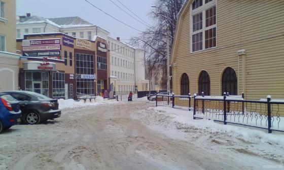 Курская улица у Ревпроспекта 8 января 2019 г.