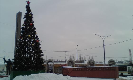 Вокзальная площадь 8 января 2019 г.