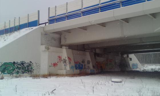 Эстакада в Сергеевке. 12.2018