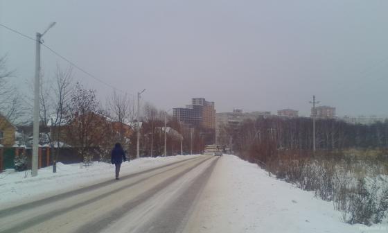 Дорога в Лемешове 23.12.2018