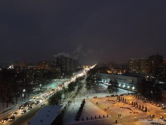 Улица Кирова у администрации 12.2018