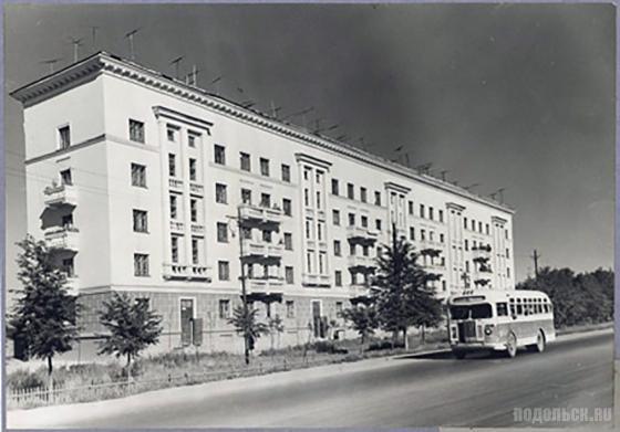 Дом № 18 на Большой Серпуховской улице. 1950-е гг.