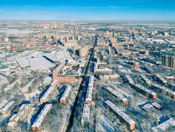 Вид на улицу Свердлова. 02.2019