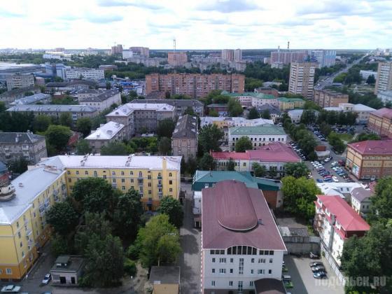 Центр Подольска районе Ревпроспекта. Июнь 2018
