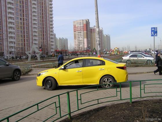 Такси в Кузнечиках. 04.04.2019