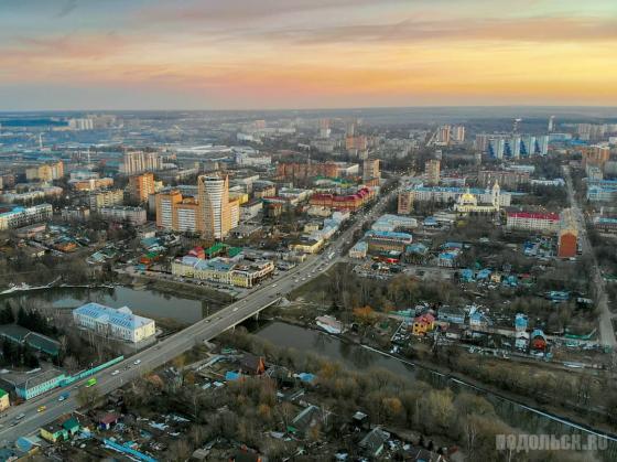 Центр Подольска. Апрель 2019
