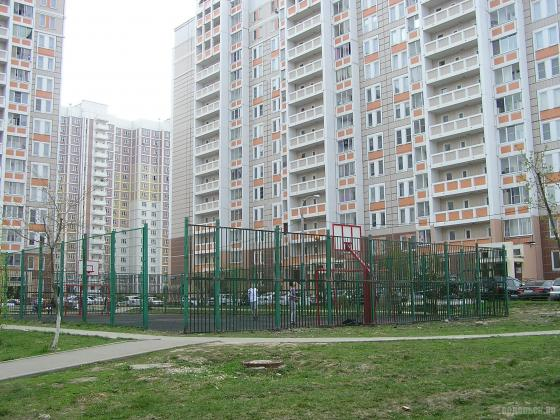 Спортплощадка в Кузнечиках. 27.04.2019