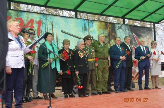 """Вахта памяти"" в Кузовлеве 27.04.2019"