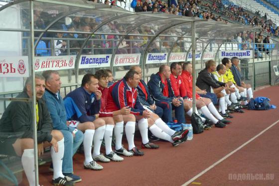 100 лет подольскому футболу: матч ветеранов